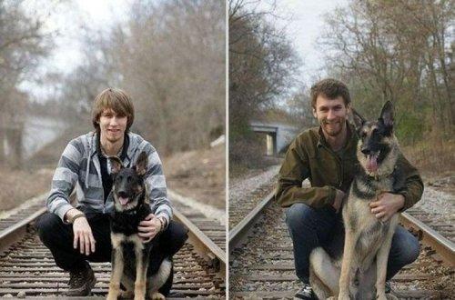 Сравнительные фото -