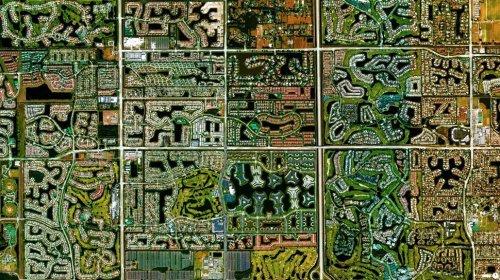 Фотографии красивых мест Земли со спутника