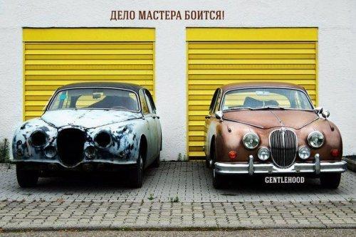 Новые автомобильные приколы. Смешные картинки