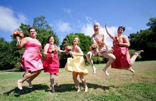 Смешные свадебные фотографии