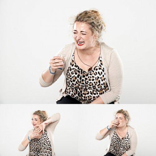 Лица людей, выпивших алкоголь