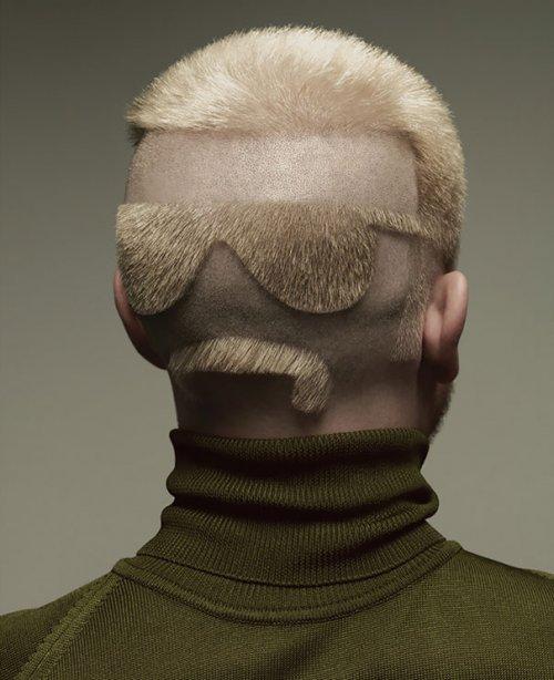 Оригинальные стрижки и причёски