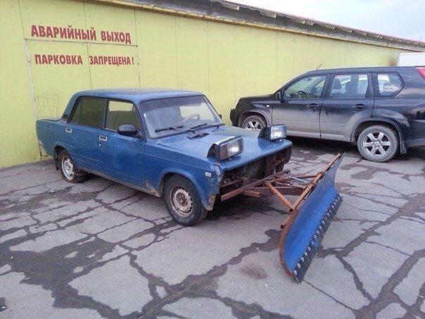Немного автомобильных приколов
