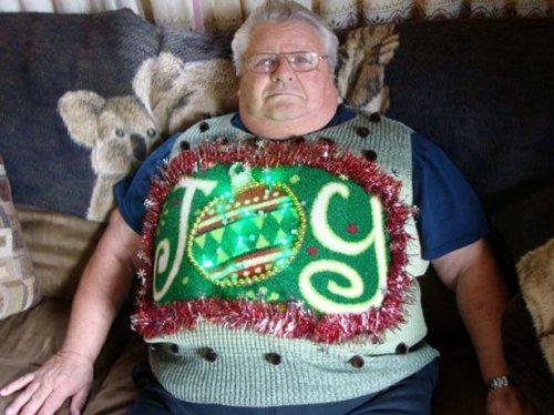 Нелепые и весёлые новогодние свитеры