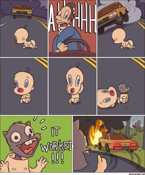Прикольные комиксы для настроения