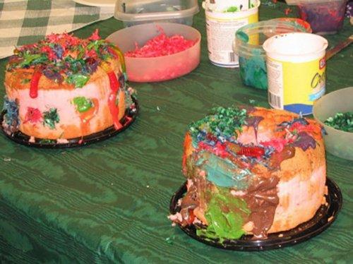Унылые тортики и пироженые