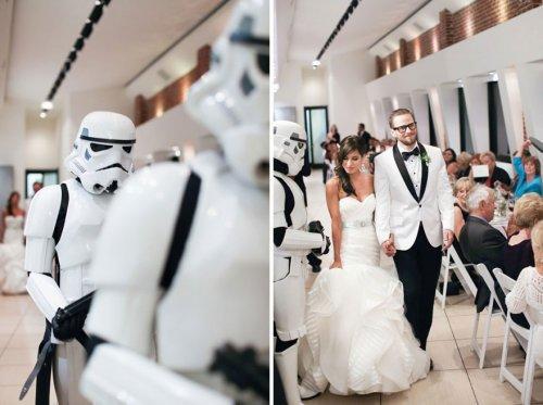 """Свадьба в стиле """"Звёздные войны"""""""