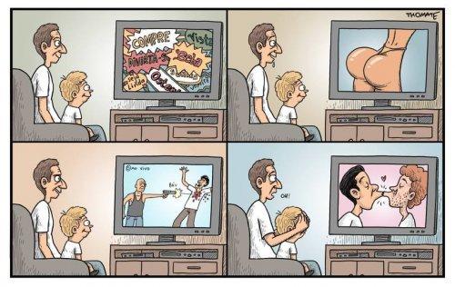 Прикольные комиксы обо всём