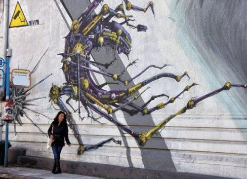 Уличные рисунки. Народное искусство