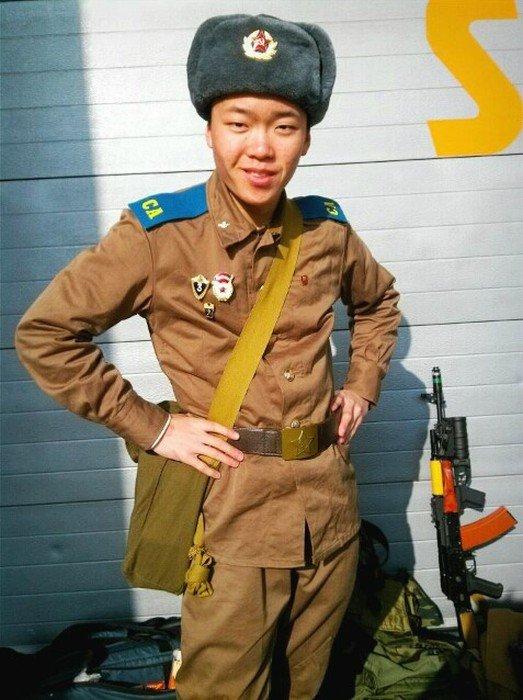 Необычное хобби корейского подростка