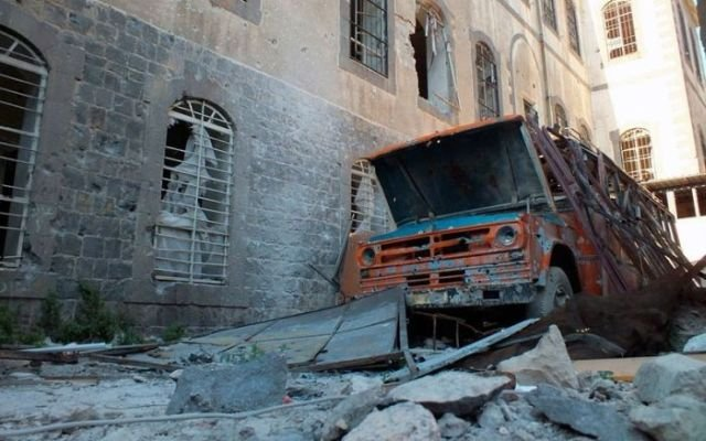 Эхо войны в Сирии. Фотографии с мест сражений