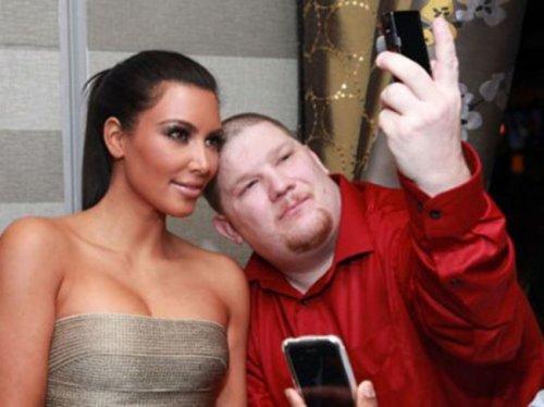 Неудачные фотографии со знаменитостями