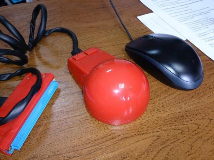 Советская мышь для компьютера
