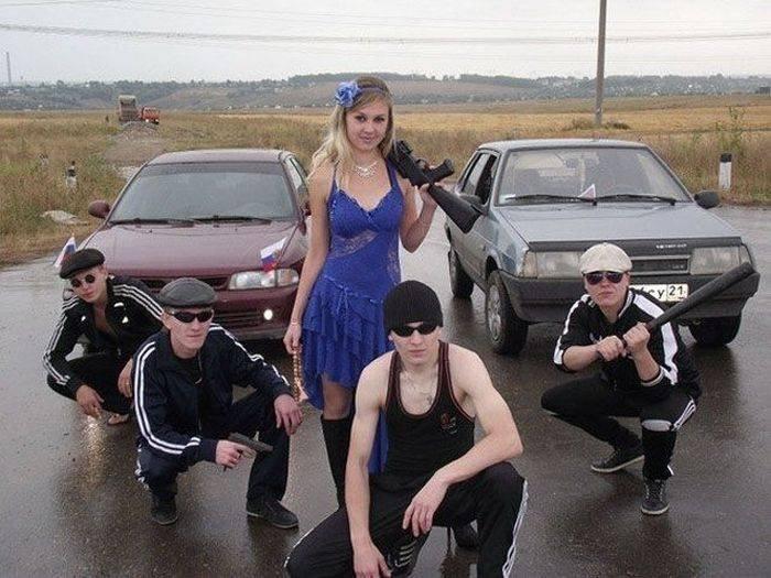 Такое бывает только в Росиии... Любимая страна