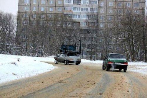 Тем временем в России... - Отечественные приколы