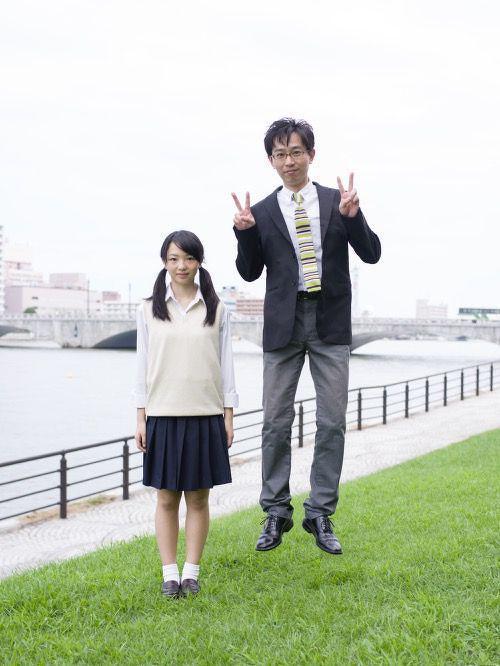 Приколы из Японии. Фото с отцами