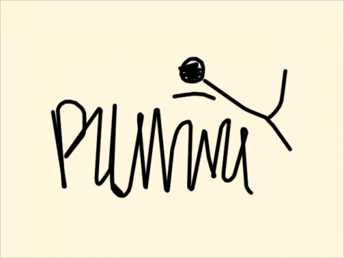 Известные логотипы знаменитых брендов, написанные врачебным почерком