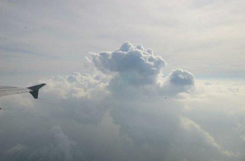 Необычные облака. Красоты природы