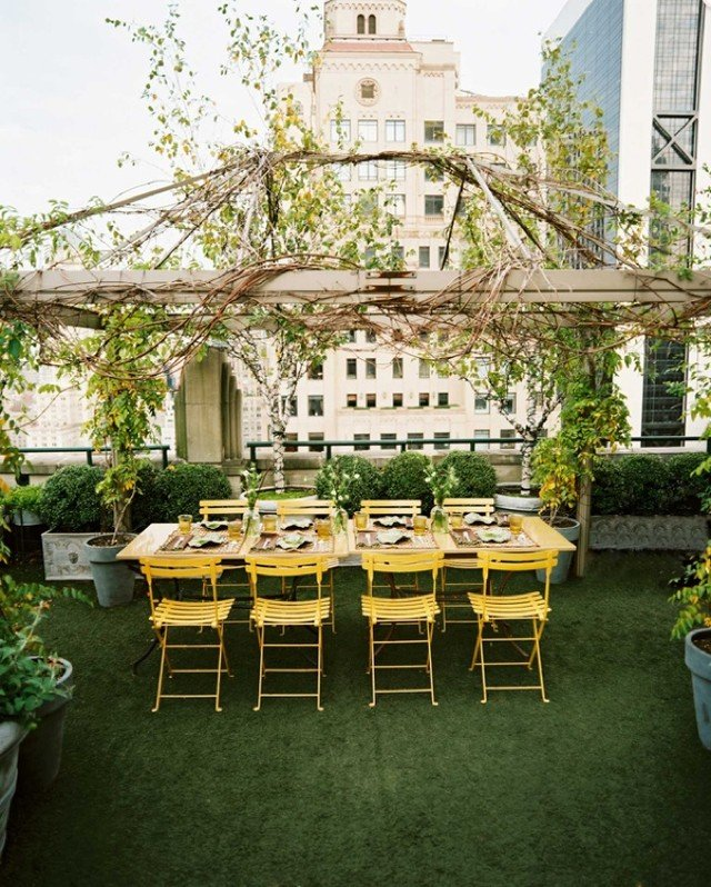 Самые красивые балконы и террасы Нью-Йорка