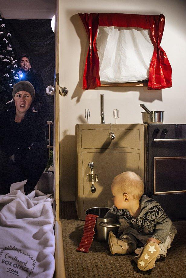 Креативные семейные фотосессии. Интересные идеи