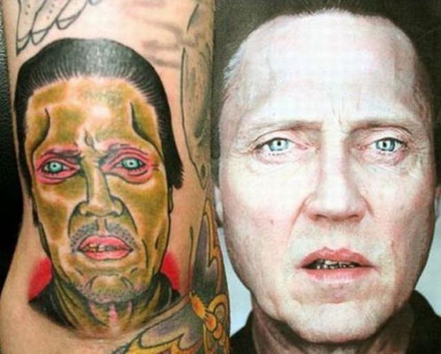 Неудачные татуировки. Современное искусство
