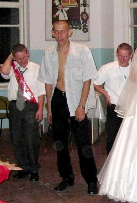 Свадебные приколы из России