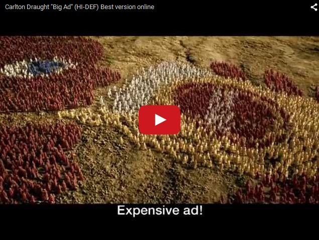 Самый масштабный рекламный ролик