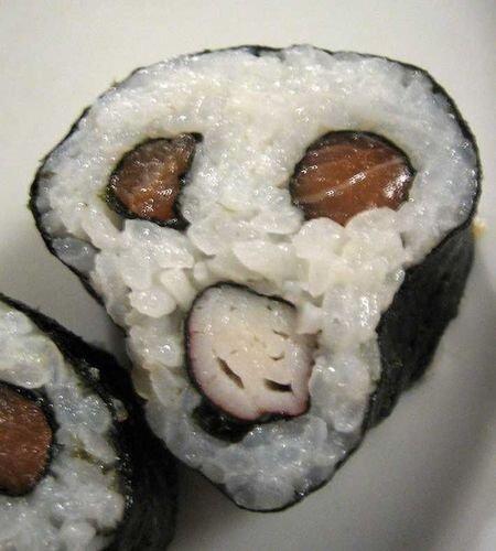 Как сделать креативные суши или Красивая еда