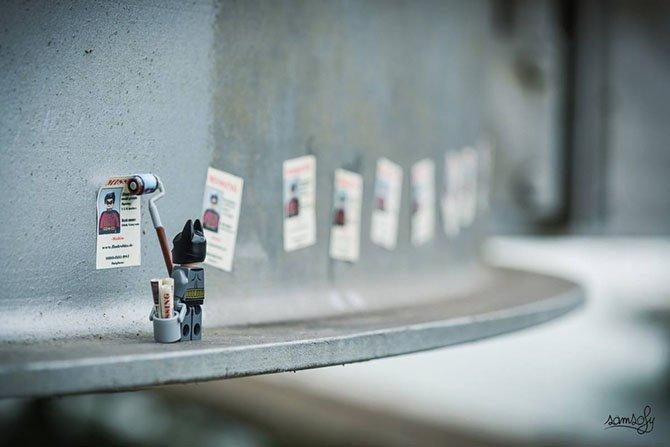 """Тайная жизнь человечков из """"Лего"""""""