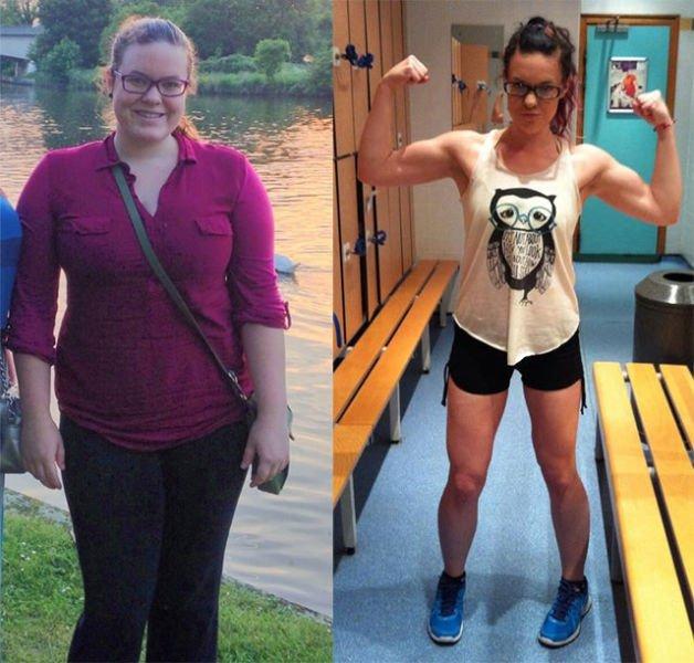 Похудение: до и после. Удивительные фото