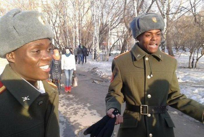 Смешные фотографии русских негров. Путешествия по России