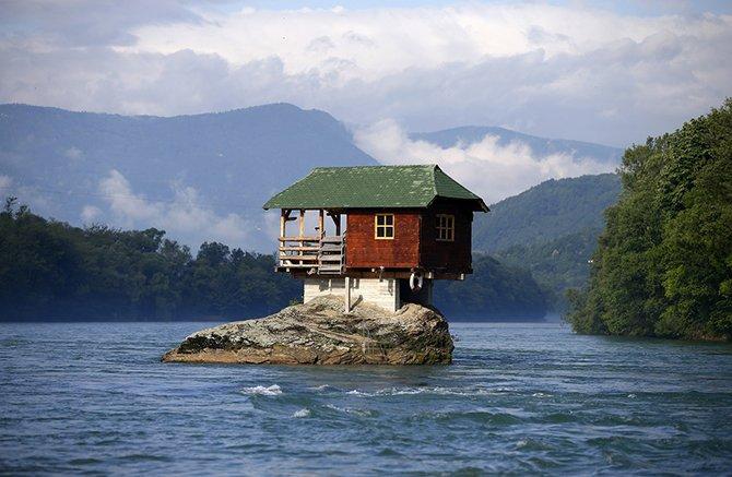 Самые необычные дома мира. Красивые картинки