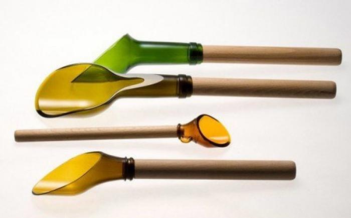 Бутылка - произведение искусства. Очумелые ручки
