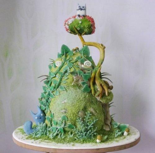Шедевры кулинарии - суперские торты. Красивые картинки