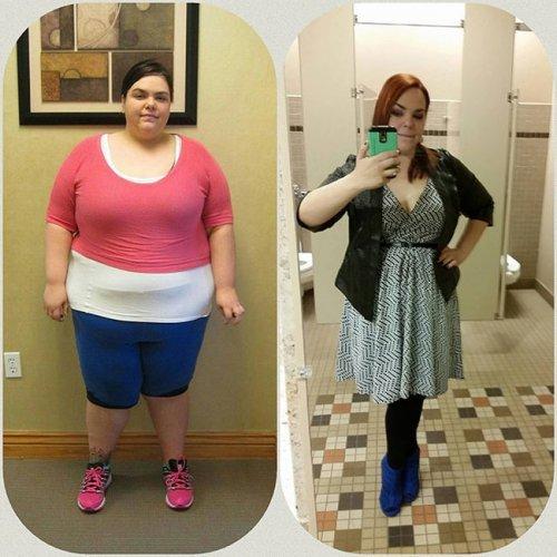 Преображения из толстушек в стройняшки