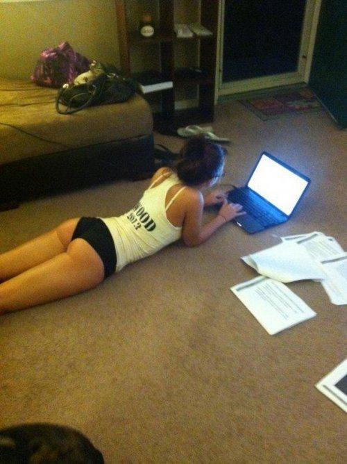 Беззаботная студенческая жизнь. Смешные фото