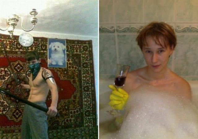 Самые идиотские фотографии с сайтов знакомств