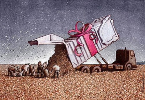 Сатирические иллюстрации Павла Кучински