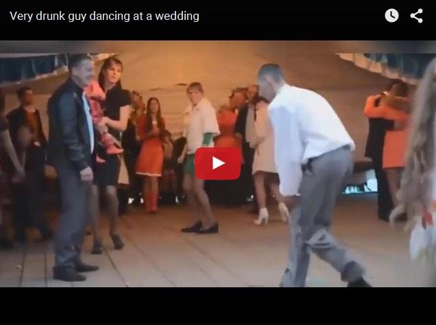 Вот это танец! Приколы со свадеб