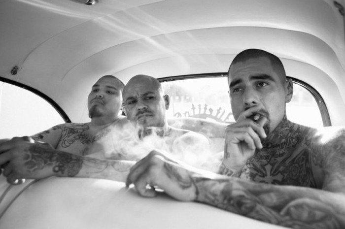 Мексиканская банда на просторах Калифорнии. Путешествия
