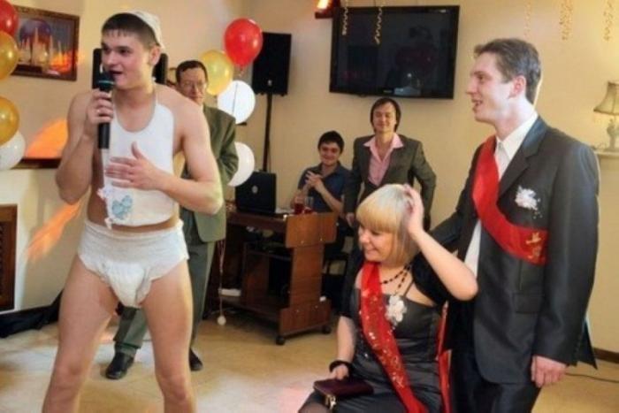 Очень смешной конкурс на свадьбу