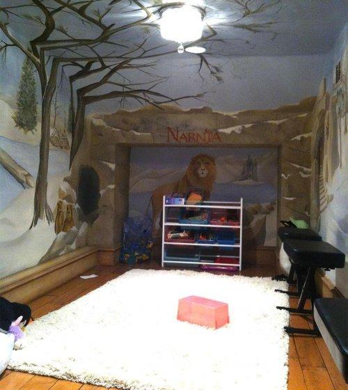 Красивые детские комнаты. Необычный дизайн детской