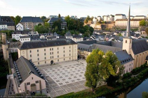 Путешествие по Люксембургу. Интересные фото