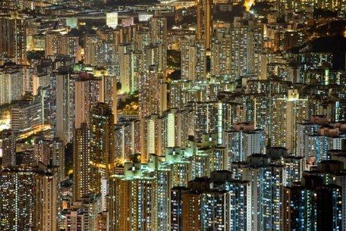 Путешествия по ночным городам. Красивые фото