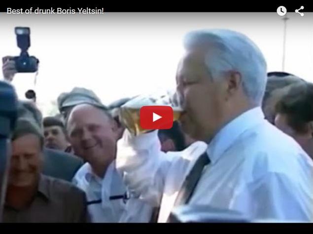 Лучшее прикольное видео от первого президента России Бориса Ельцина