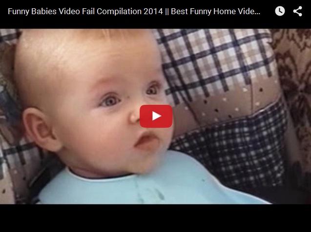 Подборка видео приколов с малышами