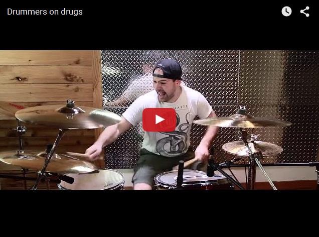 Какими бывают обдолбанные барабанщики