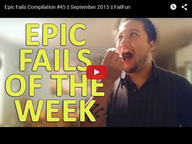 Видео приколы, неудачи и эпичные фейлы
