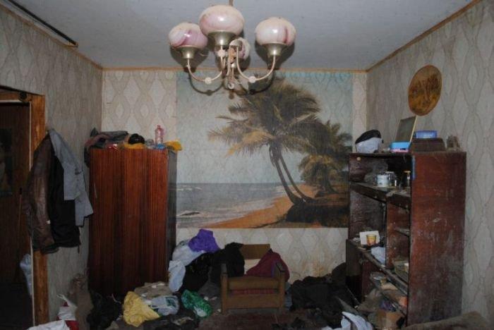Квартира типичного алкоголика