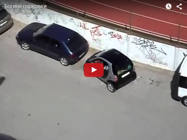 Богиня парковки 80 уровня